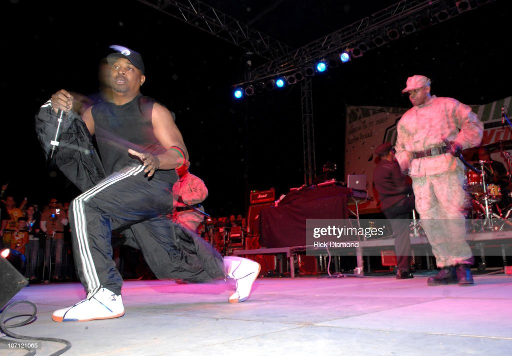 Chuck D of Public Enemy during 21st Annual SXSW Film and Music Festival - BMI Presents Public Enemy, X-Clan and Ozomatli at Town Lake Stage in Austin, Texas, United States.