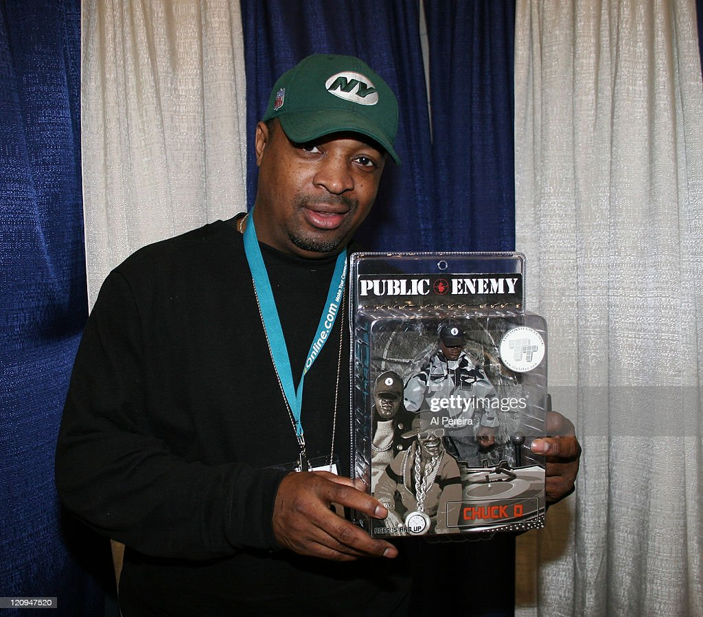 Chuck D. of Public Enemy during Chuck D. of Public Enemy Sighting at New York Comic-Con 2007 at Jacob Javitz Center in New York, New York, United States.