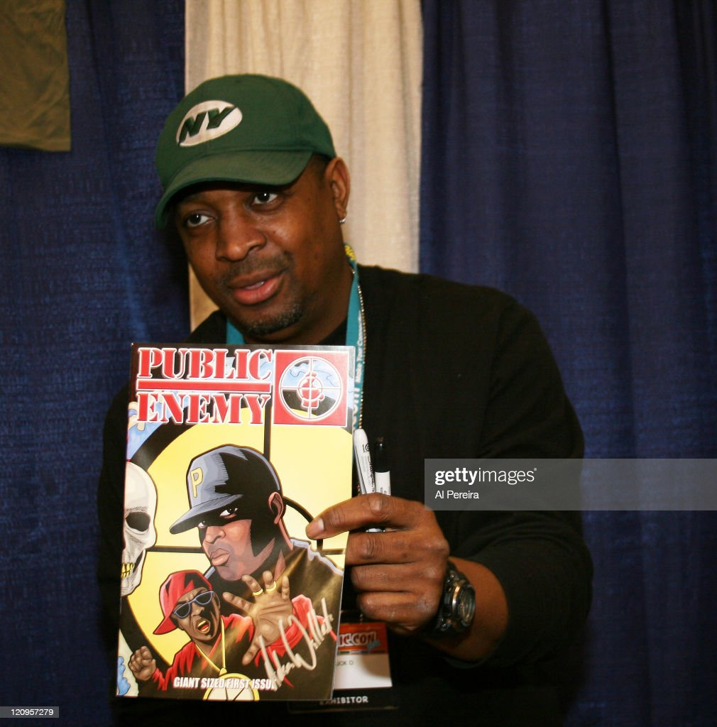 Chuck D. of Public Enemy Sighting at New York Comic Con 2007