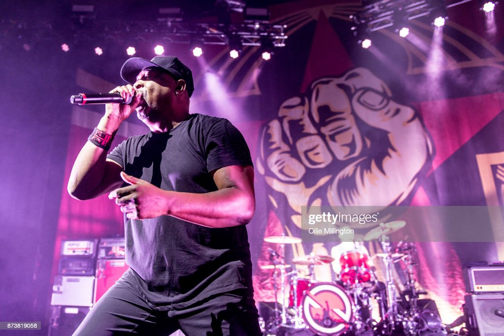 Chuck D of Public Enemy performs as part of Prophets of Rage live on stage at the O2 Forum Kentish Town on November 13, 2017 in London, England.