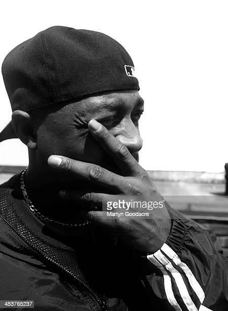 Chuck D of Public Enemy portrait United Kingdom 1999