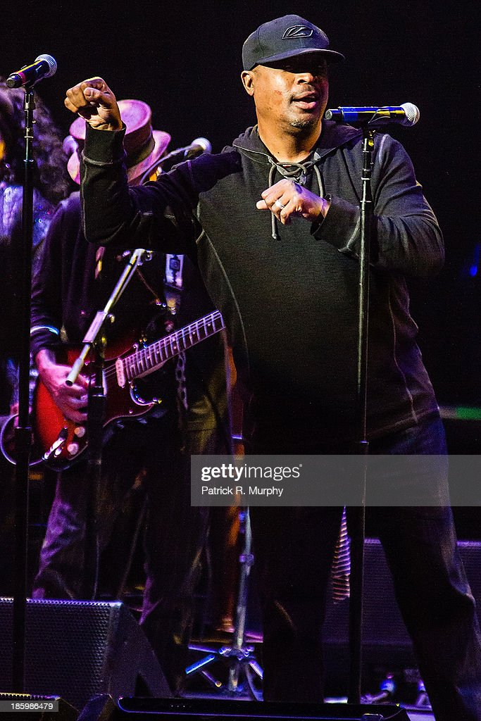 Chuck D performs at the 18th annual Music Masters series honoring The Rolling Stones at the State Theatre on October 26, 2013 in Cleveland, Ohio.