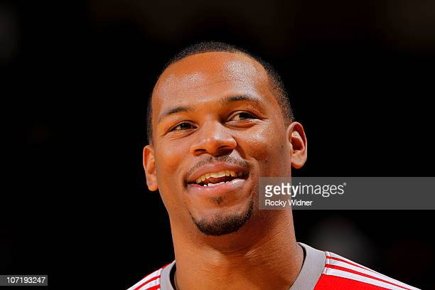 Chuck Hayes of the Houston Rockets against the Golden State Warriors on October 27 2010 at Oracle Arena in Oakland California NOTE TO USER User...