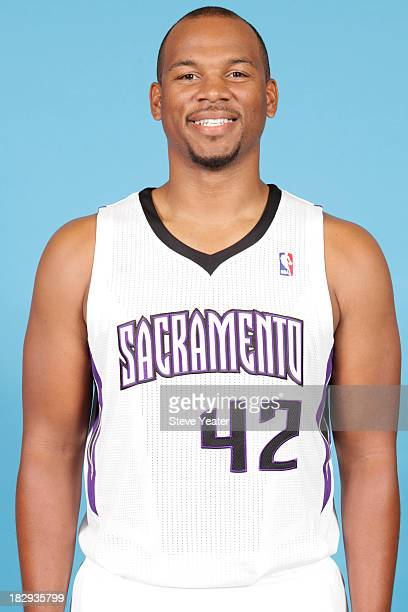 Chuck Hayes of the Sacramento Kings poses for a photo on media day September 30 2013 at the Kings practice facility in Sacramento California NOTE TO...
