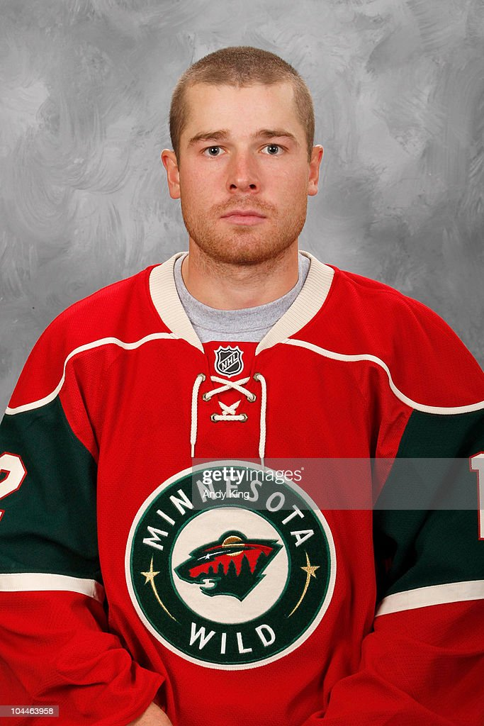 <a gi-track='captionPersonalityLinkClicked' href=/galleries/search?phrase=Chuck+Kobasew&family=editorial&specificpeople=208995 ng-click='$event.stopPropagation()'>Chuck Kobasew</a> #12 of the Minnesota Wild poses for his official headshot for the 2010-2011 NHL season at the Xcel Energy Center on September 17, 2010 in Saint Paul, Minnesota.