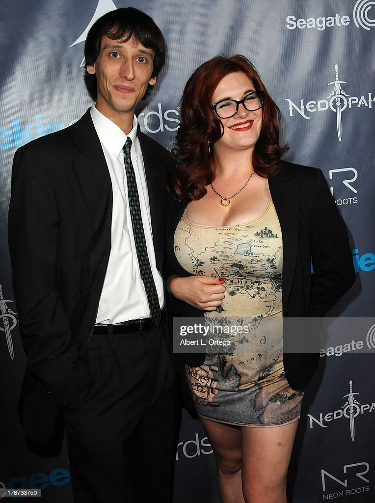 Chuck Lines and Melinda Gross attend The 1st Annual Geekie Awards held at Avalon on August 18, 2013 in Hollywood, California.