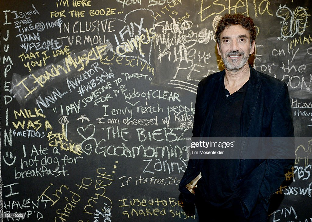 <a gi-track='captionPersonalityLinkClicked' href=/galleries/search?phrase=Chuck+Lorre&family=editorial&specificpeople=2307242 ng-click='$event.stopPropagation()'>Chuck Lorre</a> poses at the Warner Brothers TV 2013 SXSW party on March 9, 2013 in Austin, Texas.