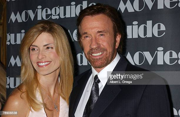 Chuck Norris and wife Gina