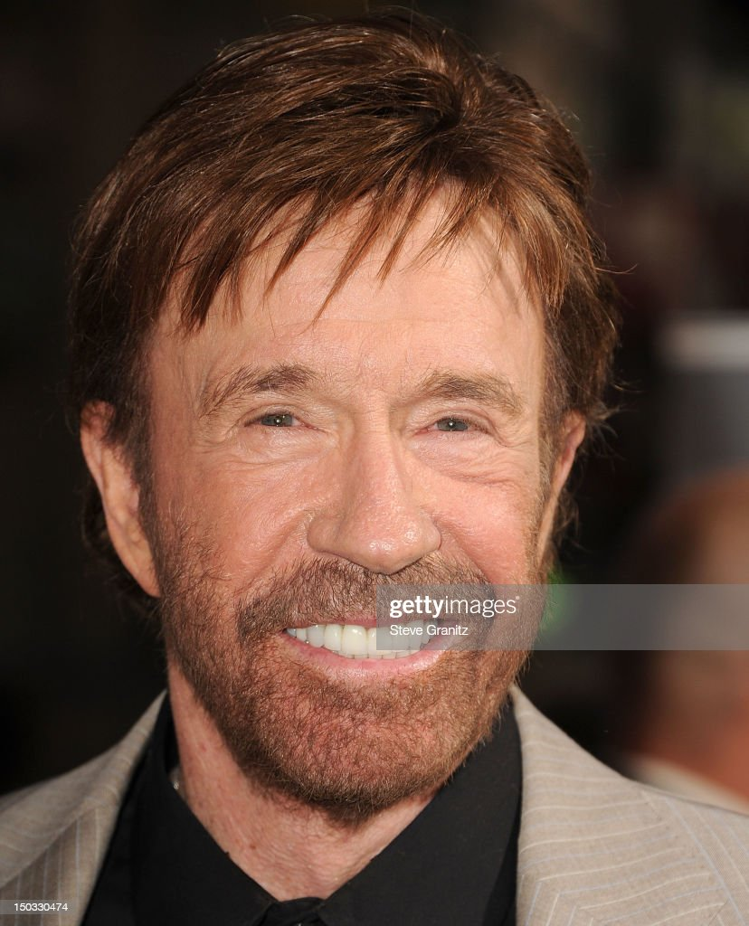 Chuck Norris arrives at the 'The Expendables 2' - Los Angeles Premiere at Grauman's Chinese Theatre on August 15, 2012 in Hollywood, California.
