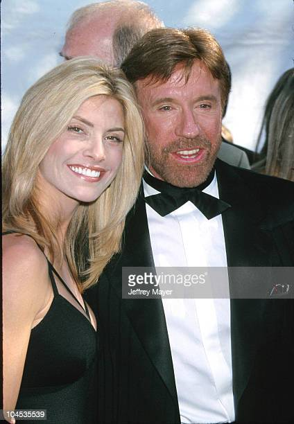 Chuck Norris Wife during The 34th Annual Academy of Country Music Awards Arrivals and Pressroom at Universal Amphitheatre in Universal City...