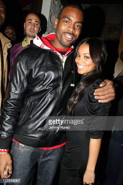 Chuck of Lrg and Lauren London during Spoonfed and MrRe Host Lauren London Birthday Party December 3 2006 at PM in New York City New York United...