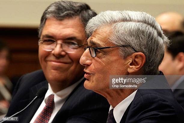Chuck Prince former chairman of the board and CEO at Citigroup Inc and Robert Rubin former chairman of the Executive Committee of the Board of...