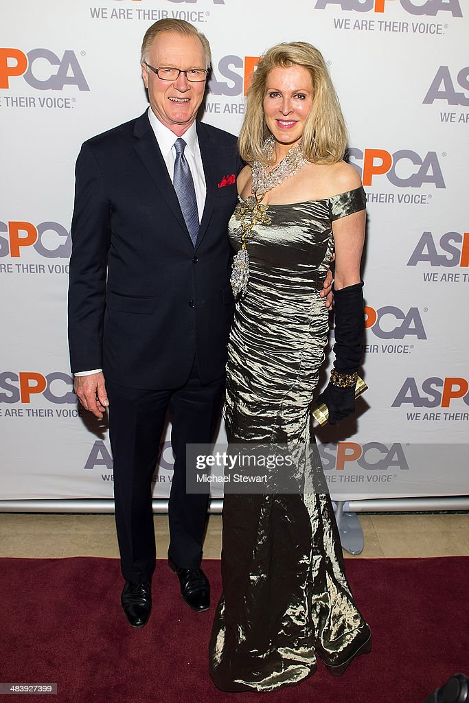 Chuck Scarborough and Ellen Scarborough attend the 17th Annual ASPCA Bergh Ball Gala at The Plaza Hotel on April 10 2014 in New York City