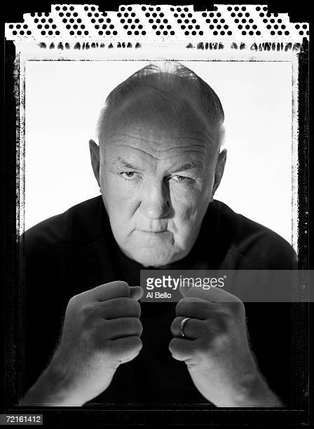 Chuck Wepner former boxing heavyweight contender poses at his home on on July 6 2005 in Bayonne New Jersey He is 66 years old at the time of this...