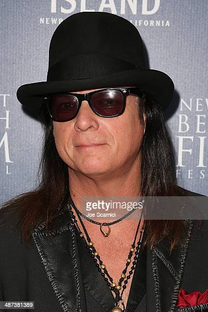 Chuck Wright attends the 2014 Newport Beach Film Festival World Premiere of yhe Quiet Riot documentary 'Well Now You're Here There's No Way Back' at...