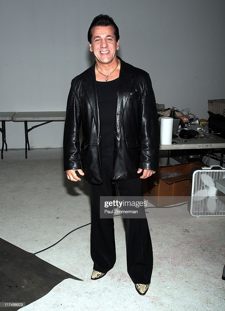 <a gi-track='captionPersonalityLinkClicked' href=/galleries/search?phrase=Chuck+Zito&family=editorial&specificpeople=785523 ng-click='$event.stopPropagation()'>Chuck Zito</a> on the set of the Eve to Adam 'Run Your Mouth' music video shoot on the streets of Brooklyn on June 26, 2011 in New York City.