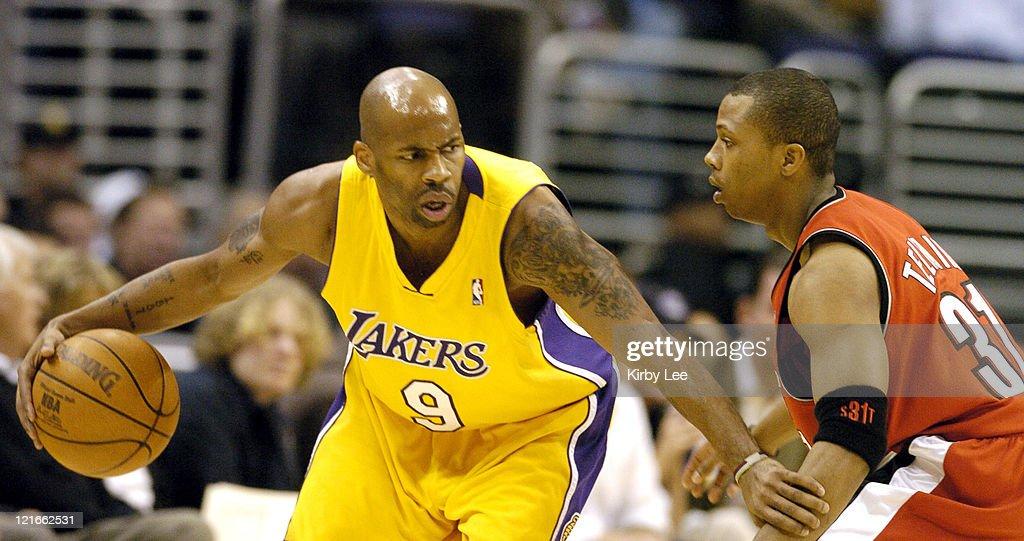 Portland Trail Blazers vs Los Angeles Lakers - February 1, 2005