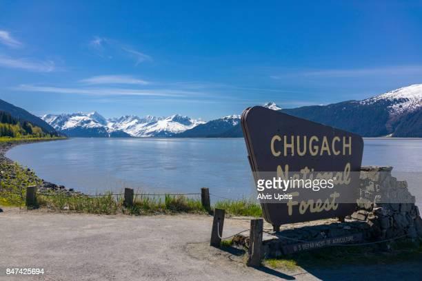 Chugach National Forest on Cook Inlet Alaska