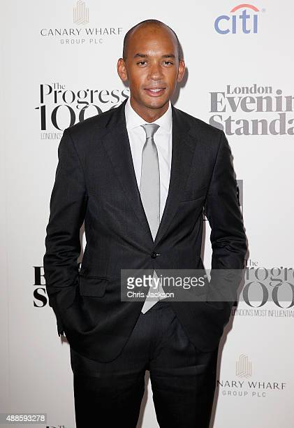 Chuka Umunna attends as the London Evening Standard Progress 1000 list is revealed at Canary Wharf Crossrail on September 16 2015 in London England