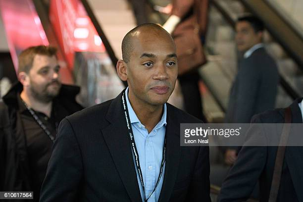 Chuka Umunna MP arrives at the conference venue on September 27 2016 in Liverpool England On day three of the annual conference at the ACC shadow...