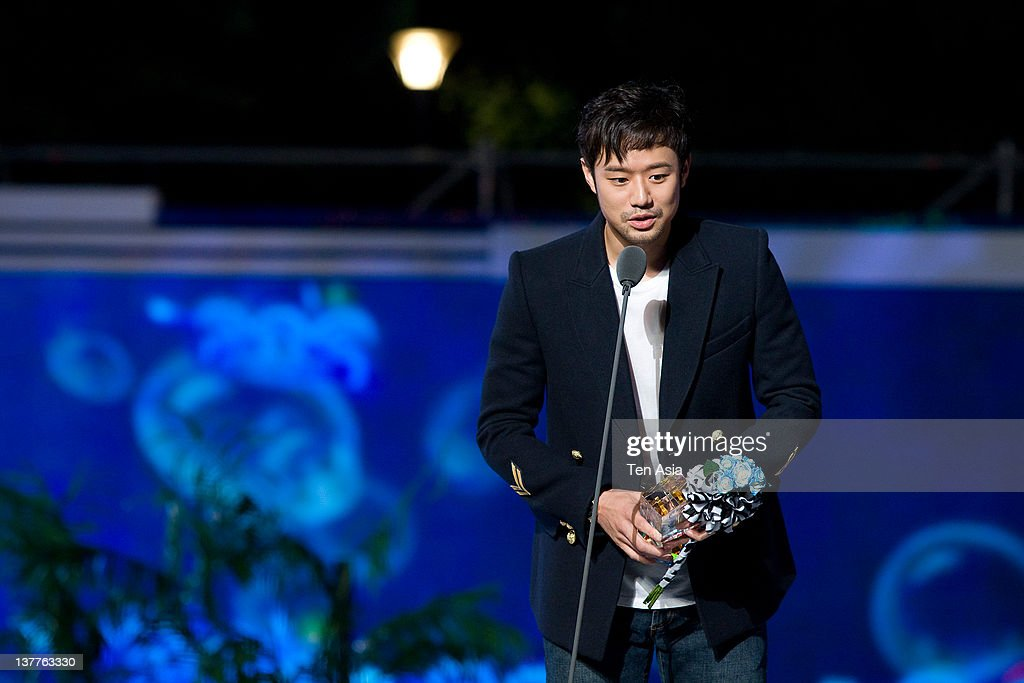 chun Jung-Myung speaks during the 2010 Mnet 20's Choice at Sheraton Grande Walkerhill Hotel on August 26, 2010 in Seoul, South Korea.
