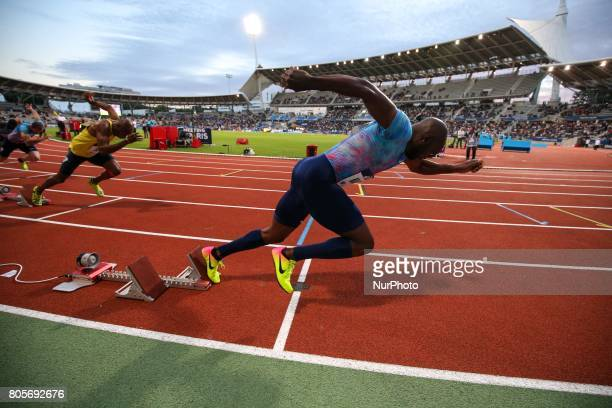 Churandy Martina of Netherlands 200m during the Meeting de Paris of the IAAF Diamond League 2017 on July 1 2017 in Paris France