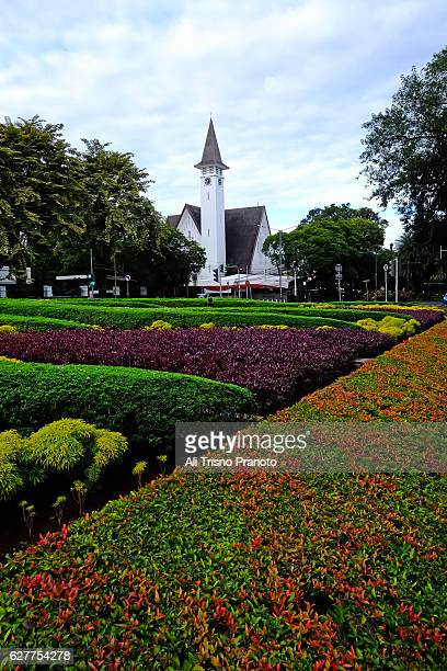 Church across the road inc Surapati Park