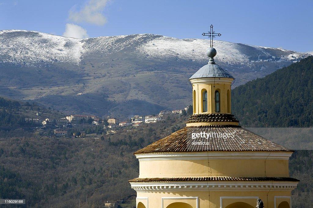 church among the mountains