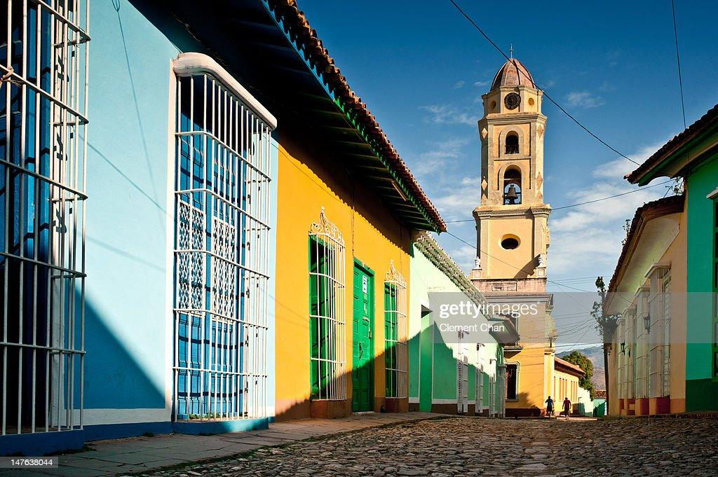 Church and Monastery of Saint Francis, Trinidad : Stock Photo