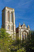 Tower of St Stephen's Anglican Church, Bournemouth, England, United Kingdom.