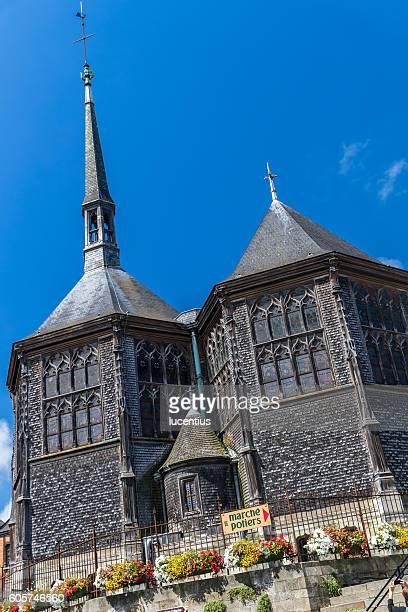 Church at Honfleur, Normandy, France