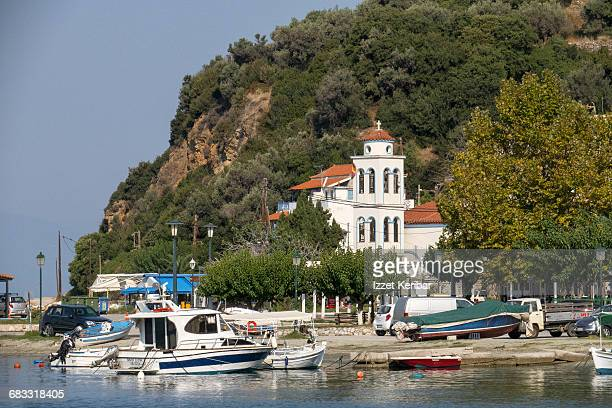 Church at  Loutraki,Glossa's port, Skopelos island