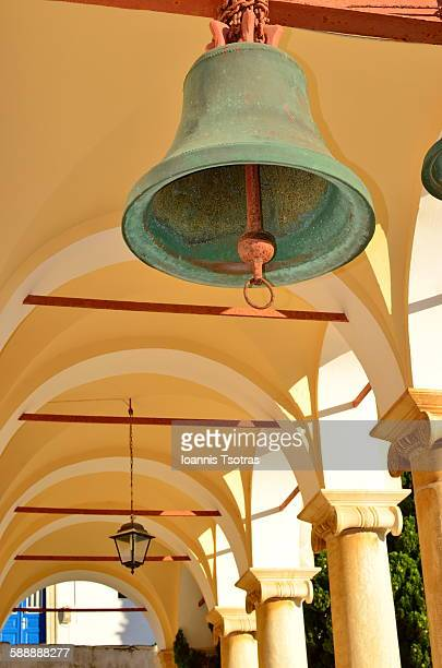 Church bell hanging