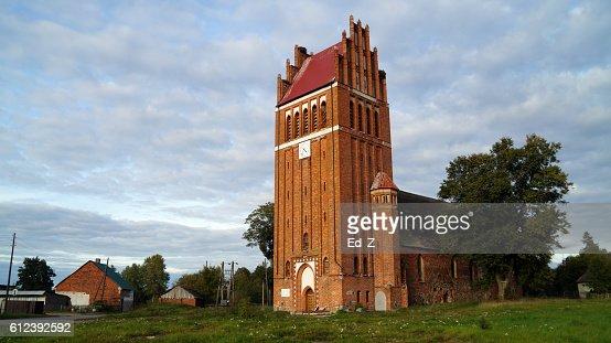 Church Ellenburg : Foto stock