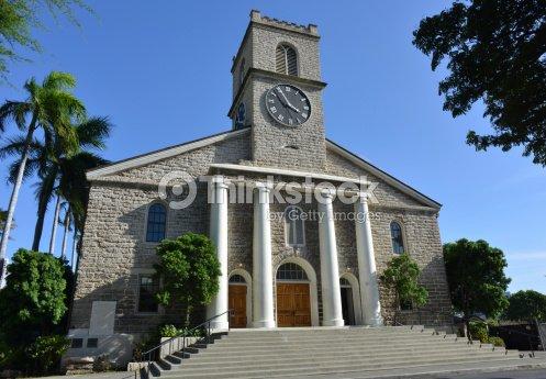 Church, Honolulu, Hawaii : Stock Photo