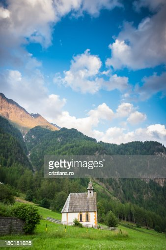 Church In Alps | Burgstein - Austria