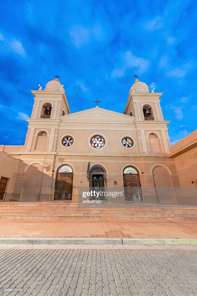 Church in Cafayate in Salta Argentina. : Stock Photo