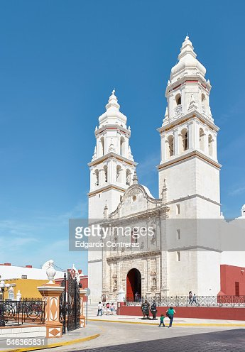Church in Campeche Mexico