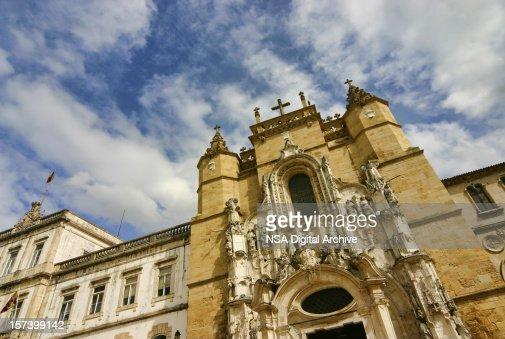 Church in Coimbra, Portugal