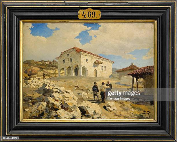 A Church in the Balkans 1877 From a private collection