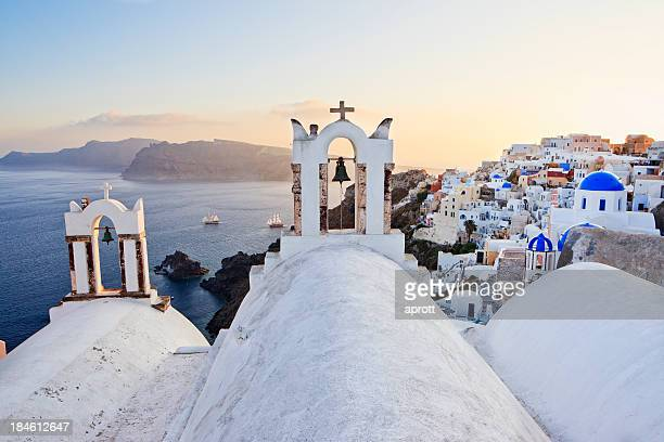 Church in the City of Oia, Santorini