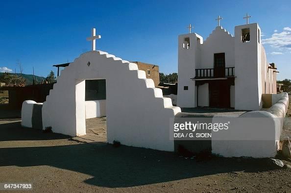 Church in the Pueblo de Taos Taos New Mexico United States of America
