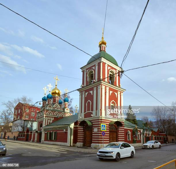 Church in the traditional Russian style in Moscow