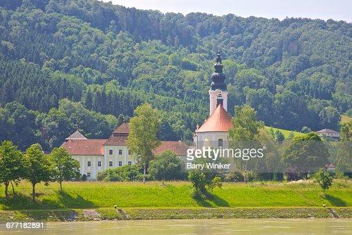 Church & nearby buildings in Upper Austria