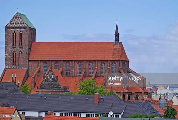Church Nikolaikirche Wismar Germany