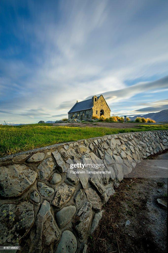 Church of a good shepherd : Stock Photo