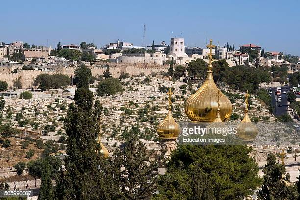 Church Of Mary Magdalene Russian Orthodox Church Mount Of Olives Jerusalem Israel¿