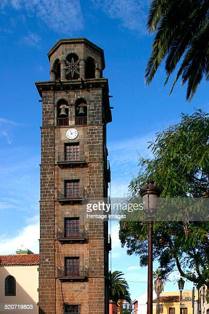 Church of Nuestra Senora de la Concepcion La Laguna Tenerife Canary Islands 2007 The bell tower of the church dates from the late 17th century