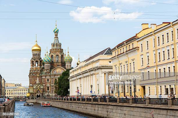 Church of our Savior on the Spilled Blood, Russia