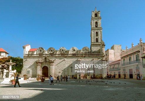 Church of San Francisco de Asis in Old Havana